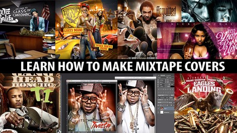 How To Make Mixtape Covers & Mixtape Graphics in Photoshop